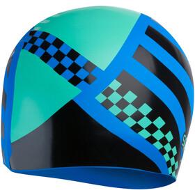 speedo Slogan Gorro con impresión Niños, azul/negro